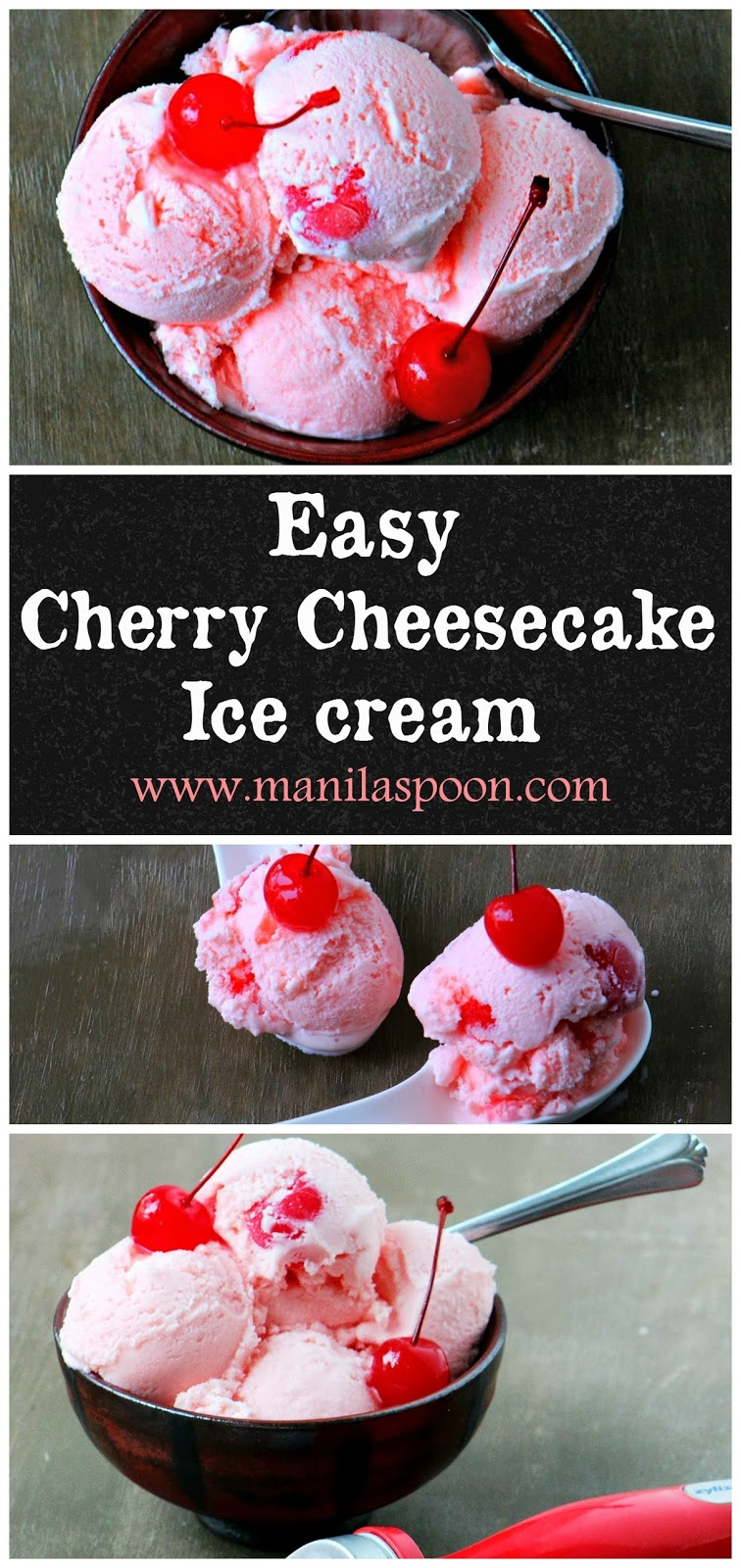 Cherry Cheesecake Ice Cream