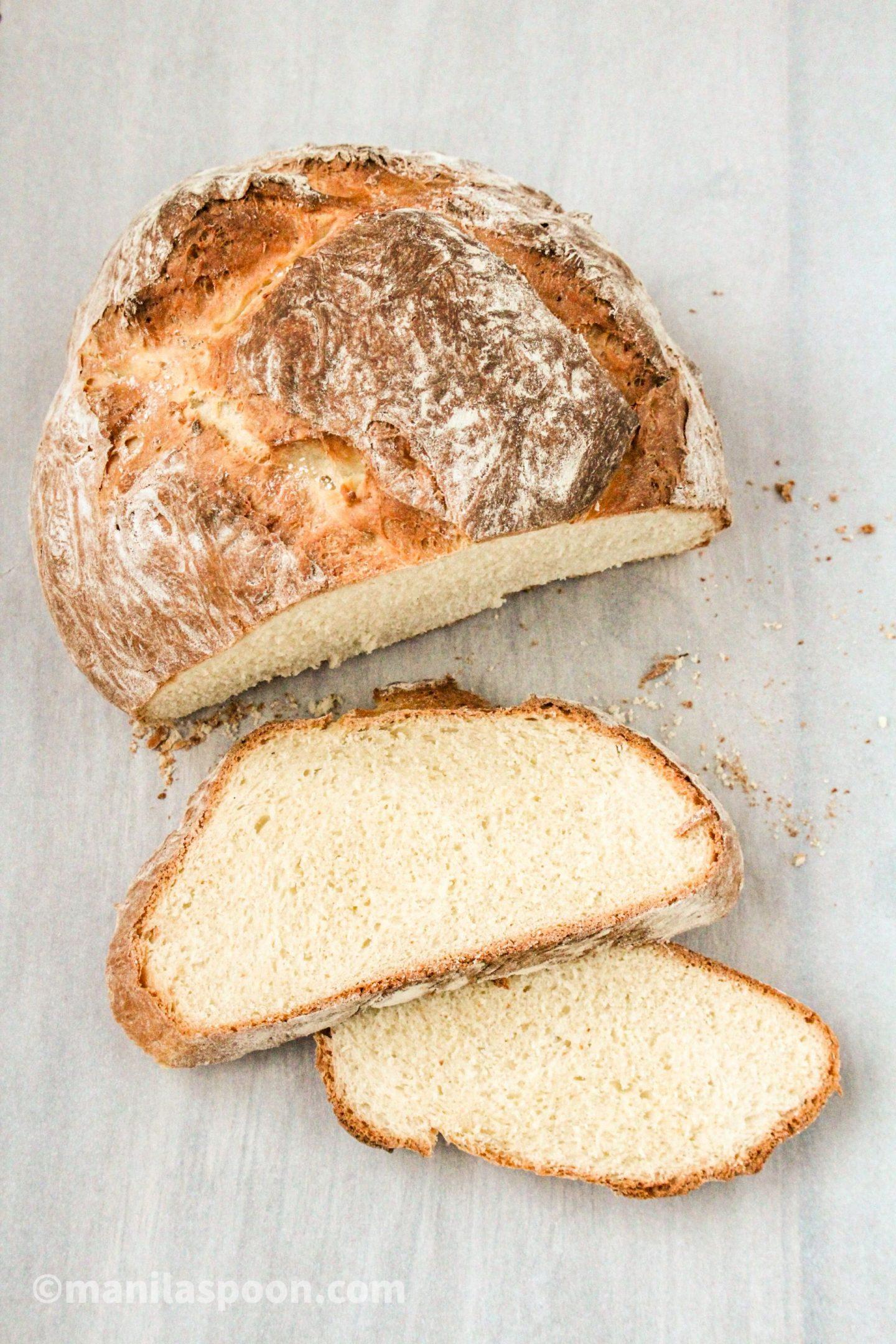 Easy Homemade Rustic Bread
