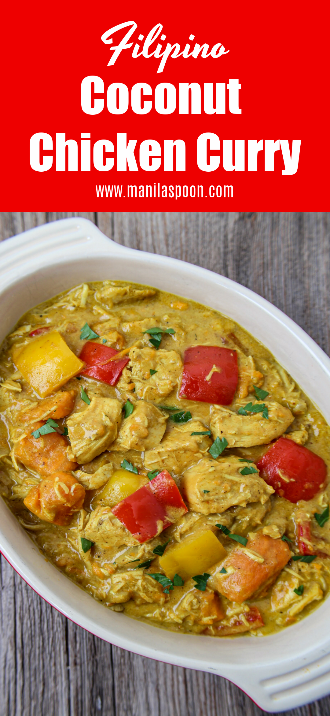 Filipino Coconut Chicken Curry
