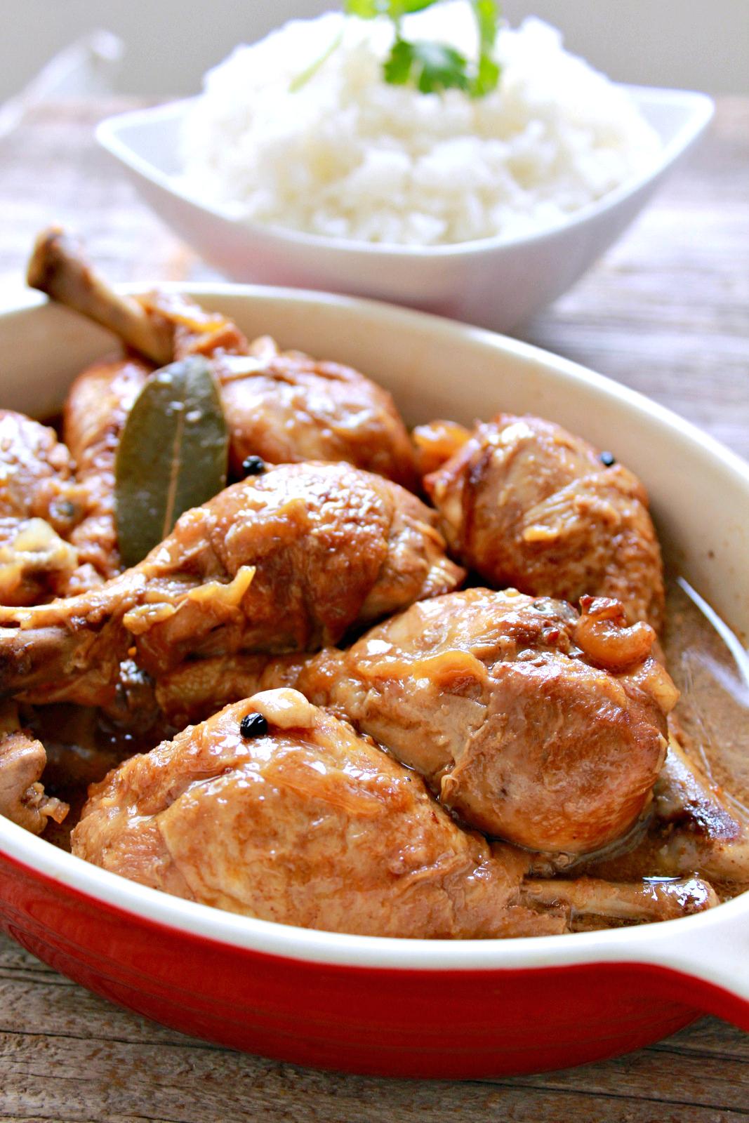 Chicken Adobo Recipe Instant Pot