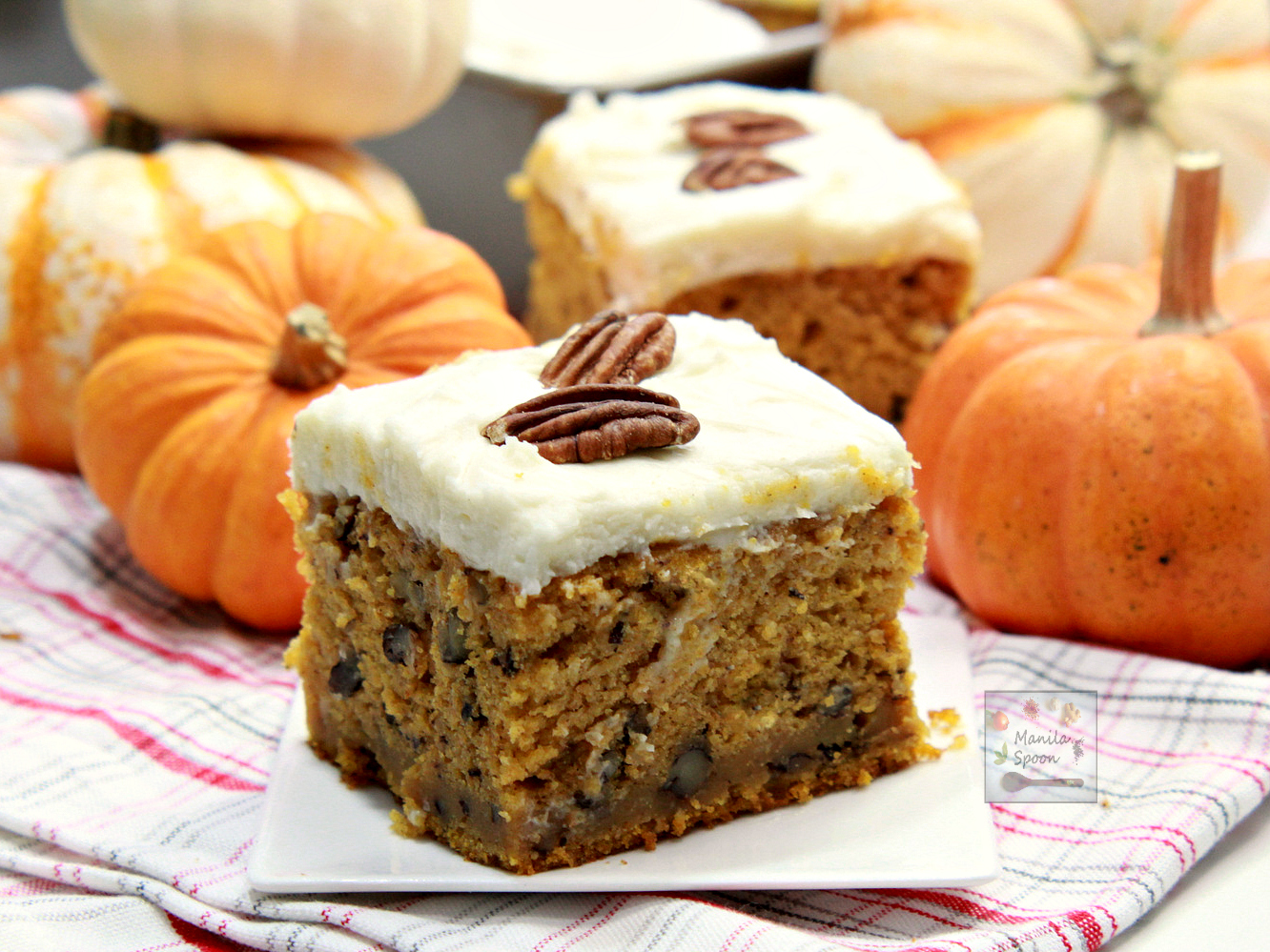 Champion Pumpkin Cake