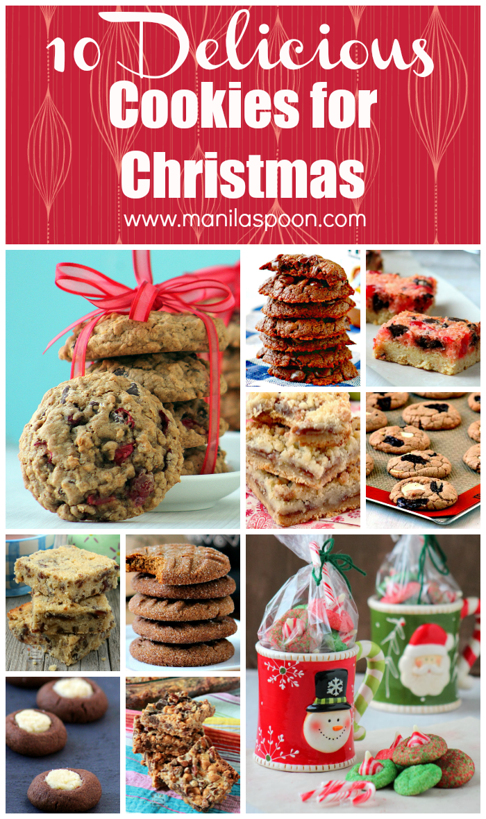 10 tried and tested family favorite cookies for Christmas and beyond. Perfect for last minute baking!