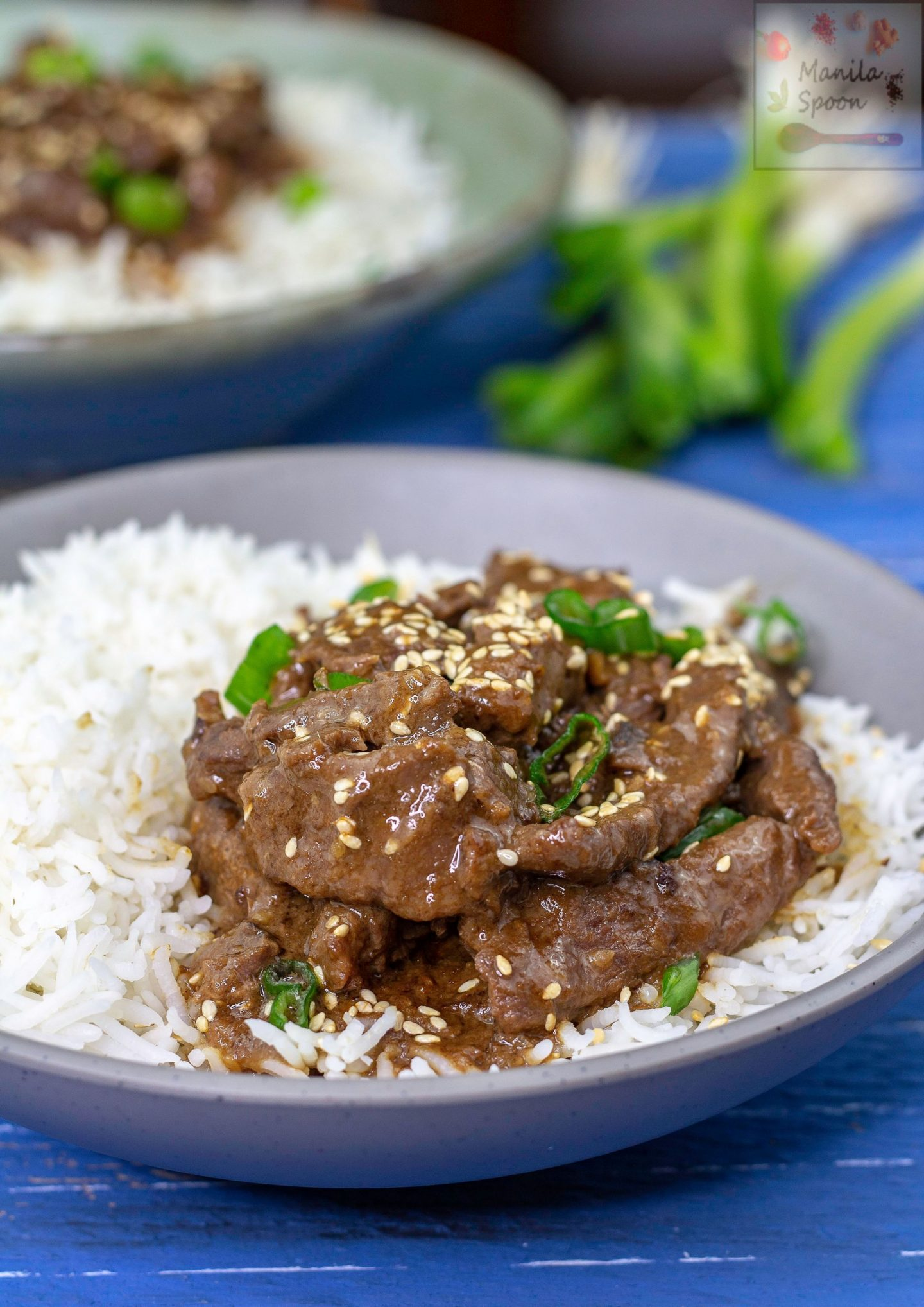 These Korean-style beef strips are melt-in-your-mouth tender and super tasty. The delicious marinade with garlic, ginger, soy sauce and sesame oil totally permeates the beef and gives it so much flavor. Plus, it's cooked in the instant pot so it's a breeze to make. #koreanbeef #sesame #garlic #beef #asianfood #delicious