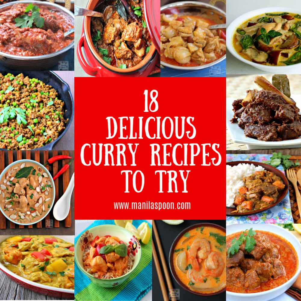 18 Delicious And Best Curry Recipes To Try