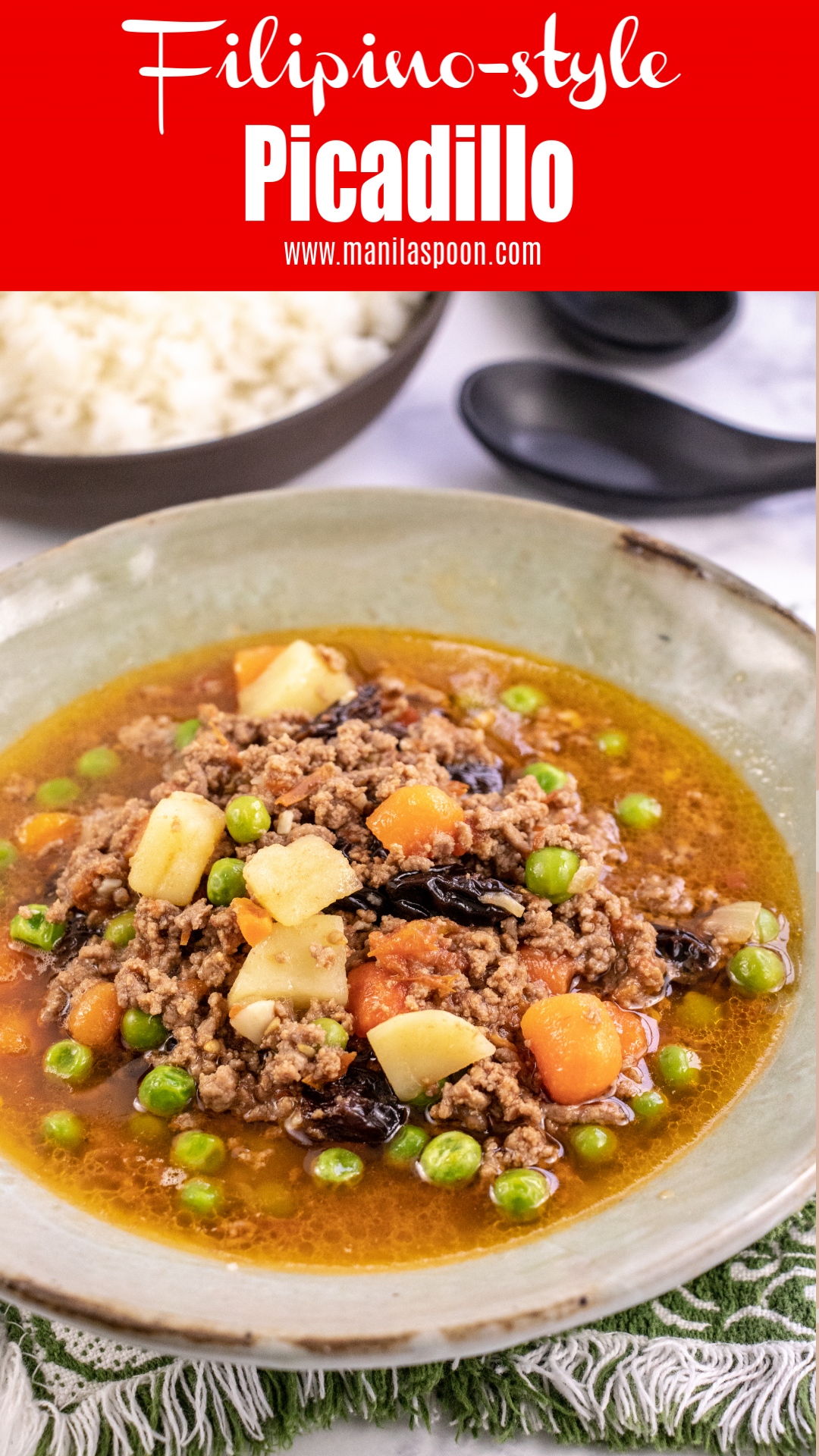 Instant Pot or Stove Top Filipino-style Picadillo