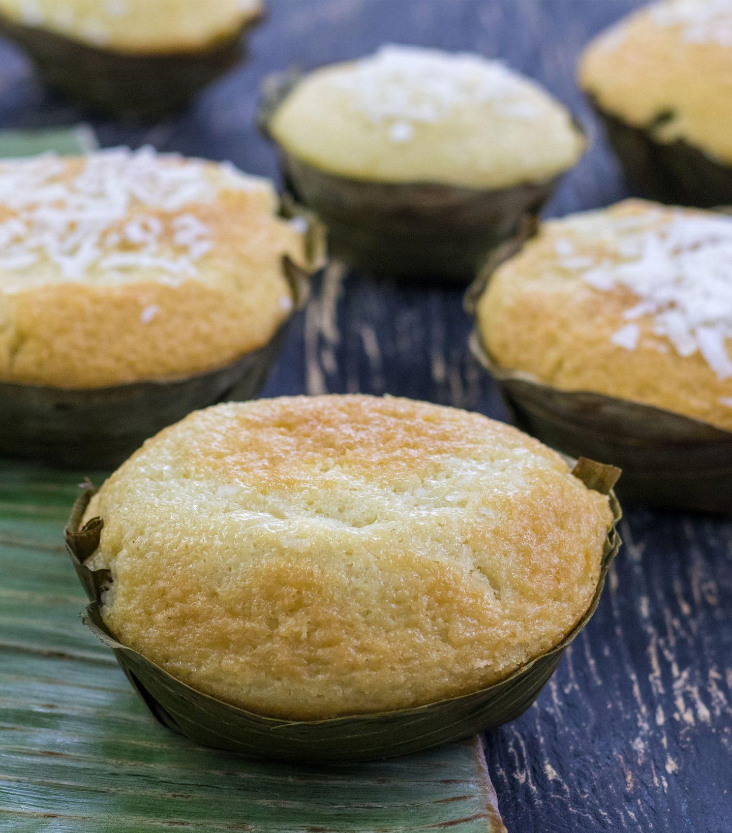 Bibingka (Coconut Rice Cakes)
