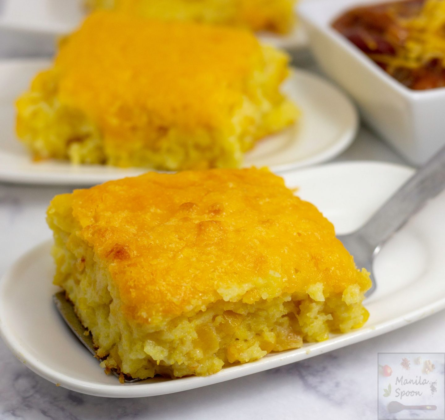 Easy Cheesy Cornbread Casserole