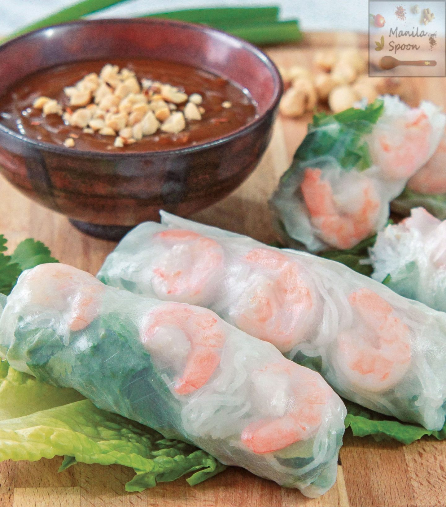 Goi Cuon (Vietnamese Fresh Spring Rolls)