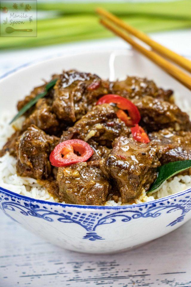 Easy Instant Pot Beef Rendang