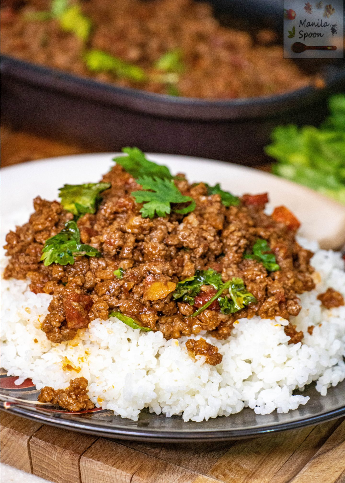 Thai Ground (Minced) Beef or Pork Curry