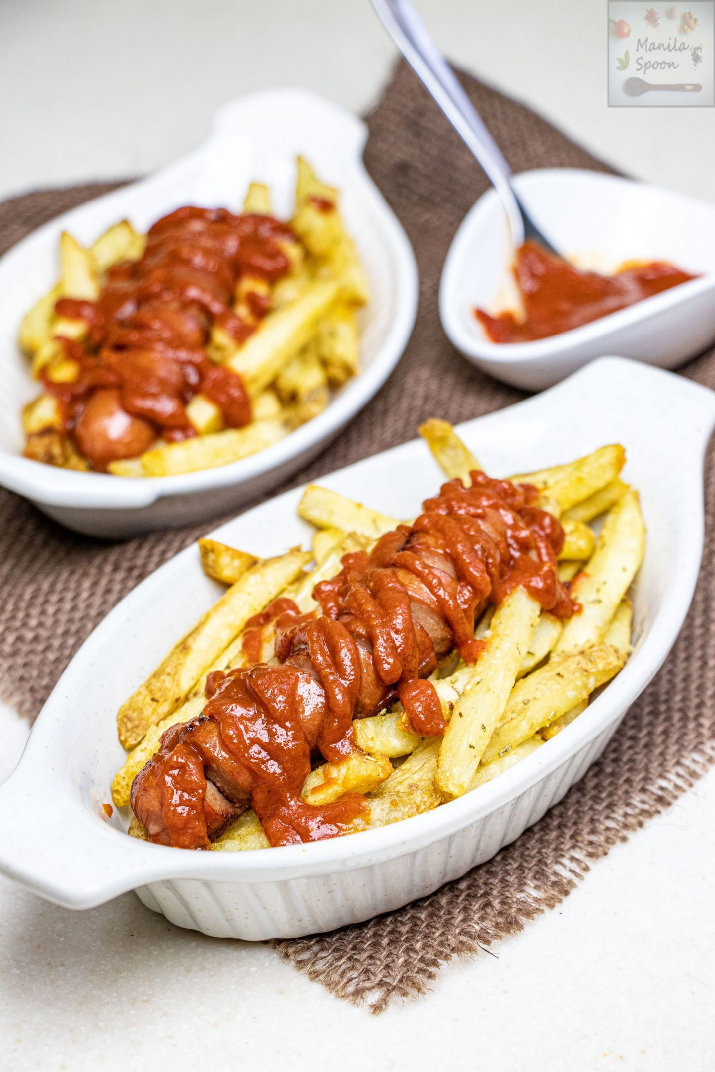 Currywurst with Curry Ketchup Recipe