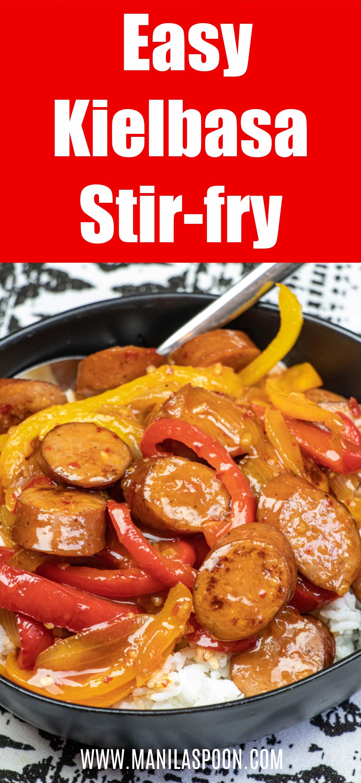 Kielbasa Stir-fry