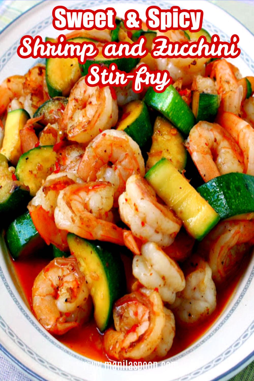 Shrimp Zucchini Stir-fry