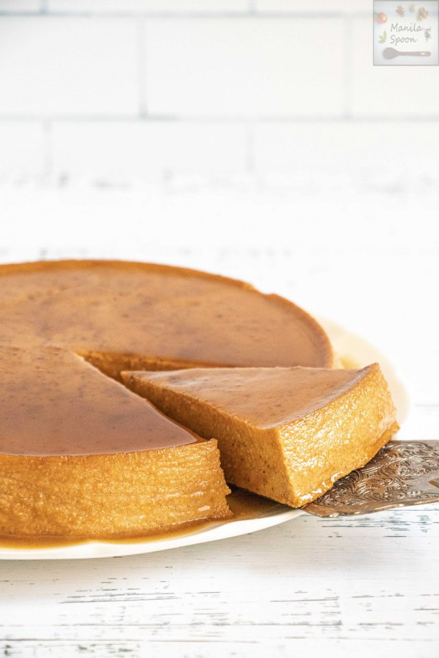 Spiced Pumpkin Cheesecake Flan