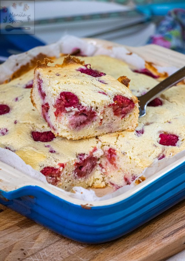 Yummy Lemon Raspberry Ricotta Cake