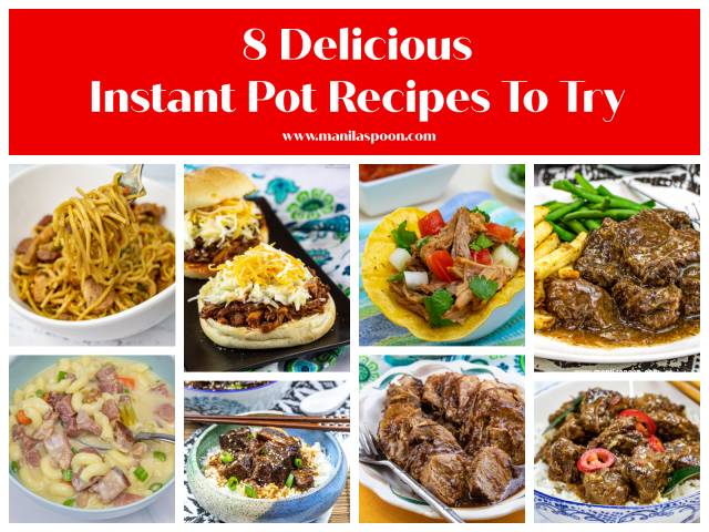 8 Delicious Instant Pot Recipes To Try (Part 2)
