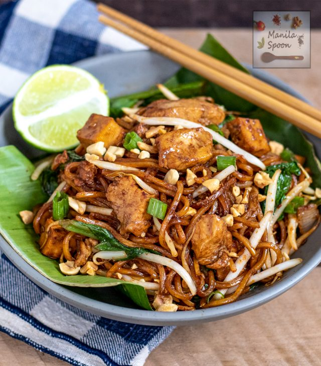 Yellow Noodles in Sweet and Spicy Sauce (Mee Goreng Mamak)