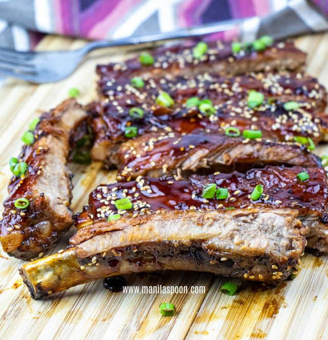 Easy Instant Pot Asian Sticky Ribs
