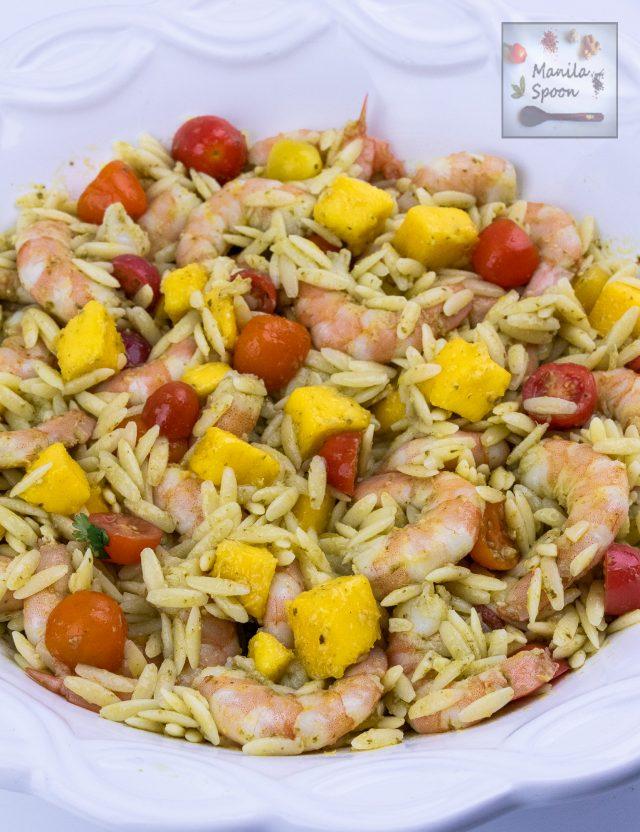 Shrimp and Mango Pasta Salad